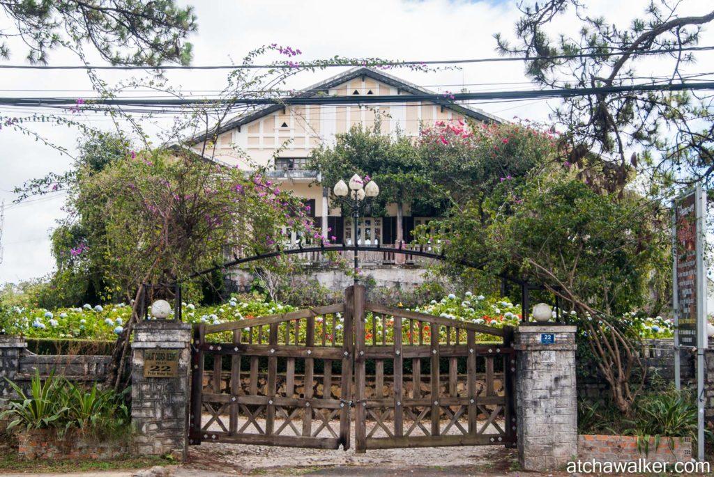 Quartier colonial - Dalat.