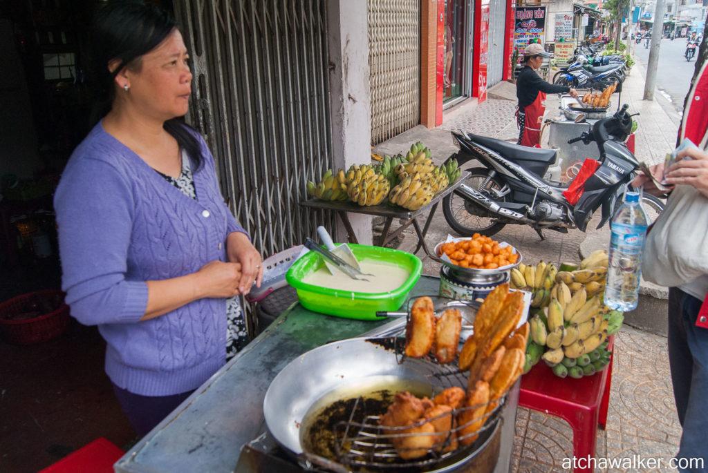 Les bananes frites, top ! - Dalat.