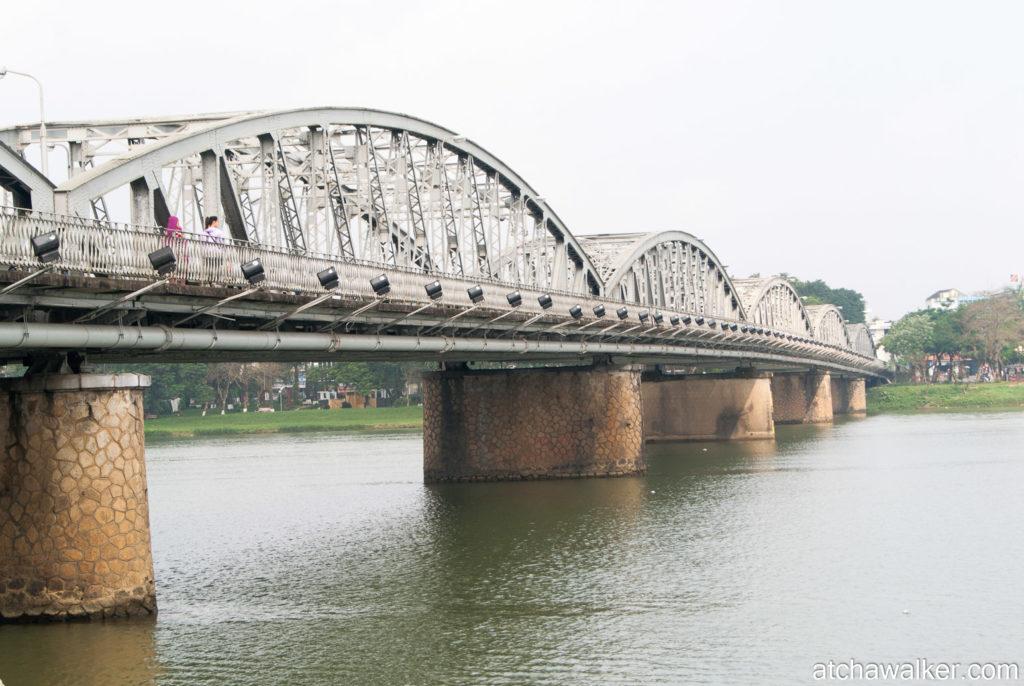 Pont Trang Tien construit par Gustave Eiffel - Hue