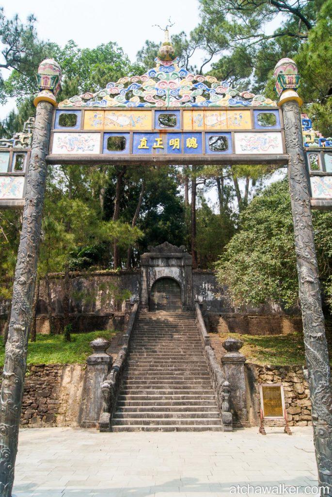 Minh Mang Tomb - Hue