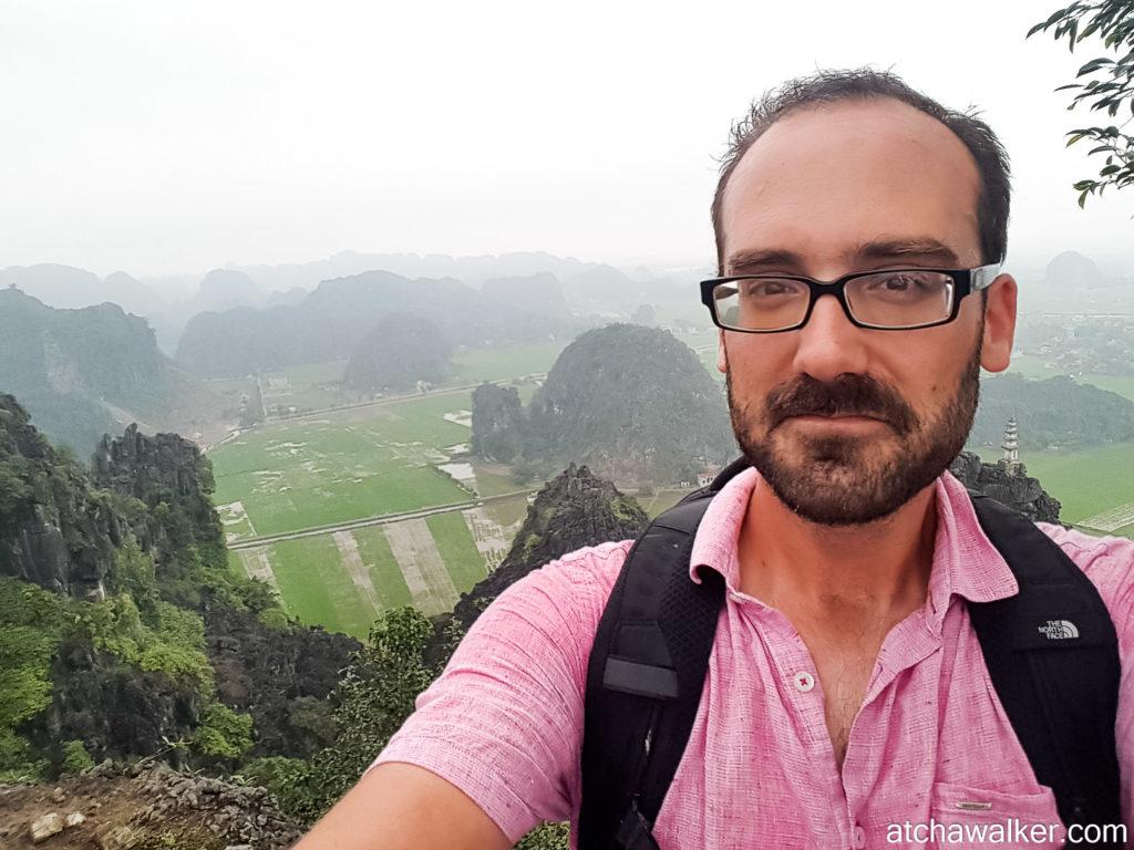 Il est content le Antoine ! -Hang Mua Cave - Ninh Binh