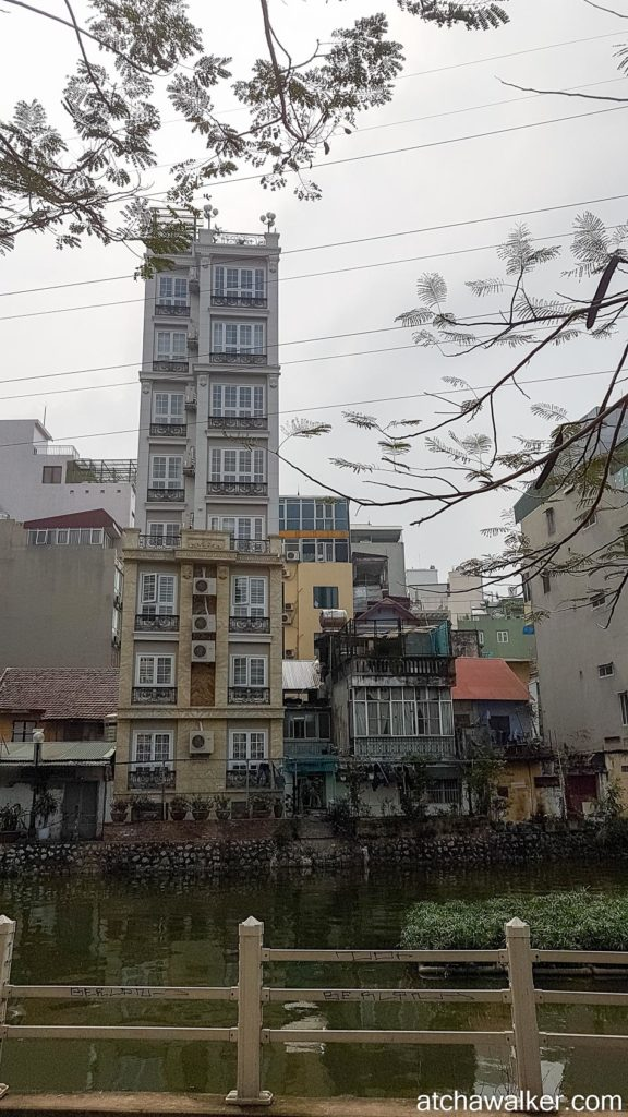 Petit immeuble - Hanoï