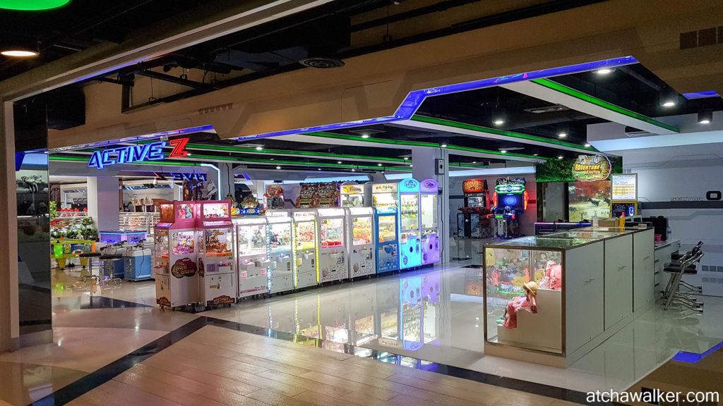 Salle d'arcade du MBK Center - Bangkok