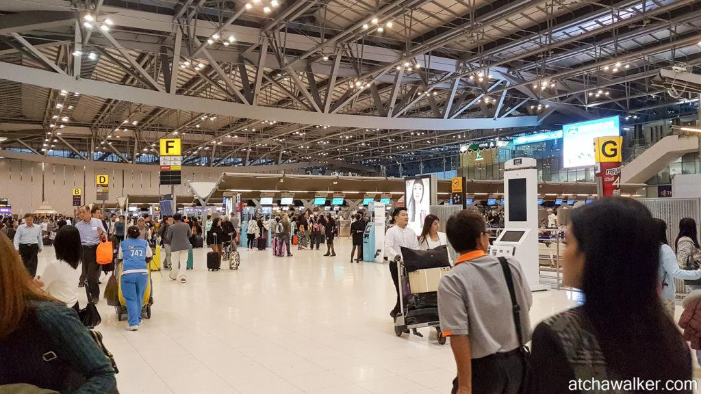 Il est temps de rentrer ! Suvarnabhumi Airport - Bangkok