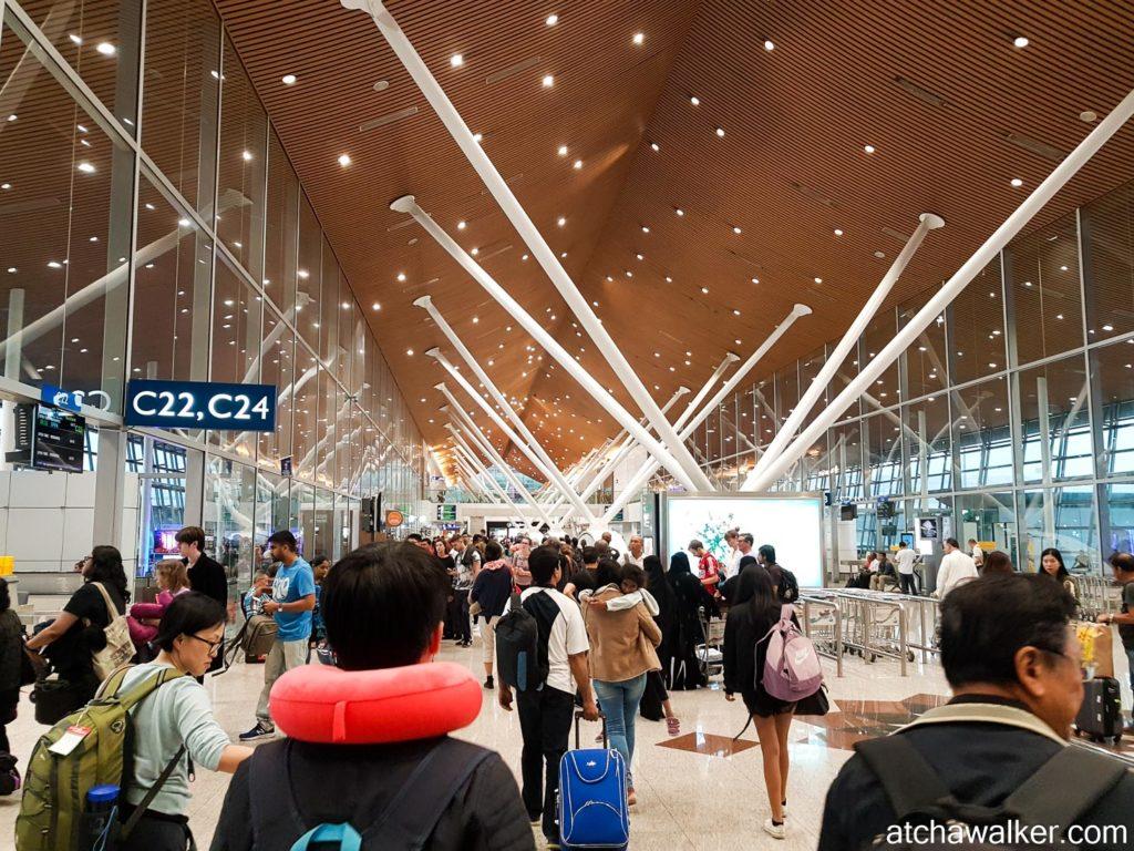 Aéroport de Kuala Lumpur.