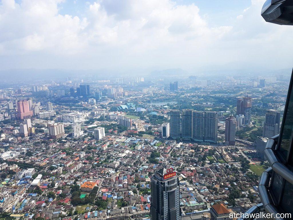 Vue du 86e - Petronas Towers - Kuala Lumpur