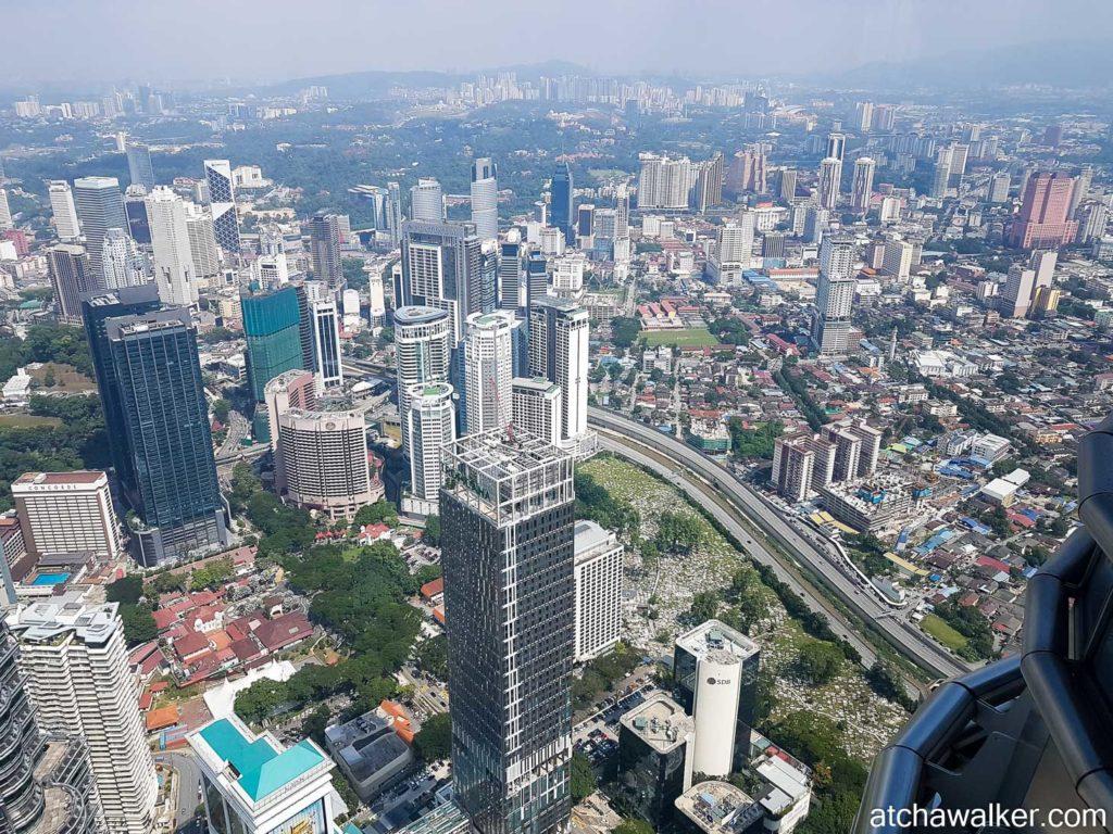 Toujours au 86e - Petronas Towers - Kuala Lumpur