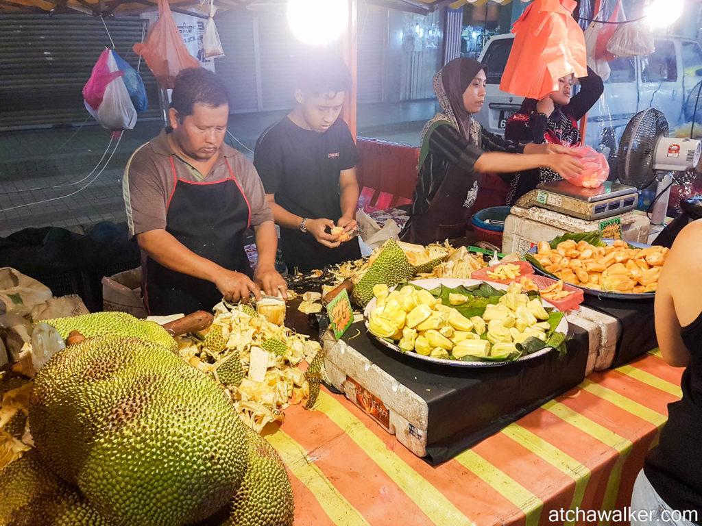 Le durian, à tester absolument! - Kuala Lumpur