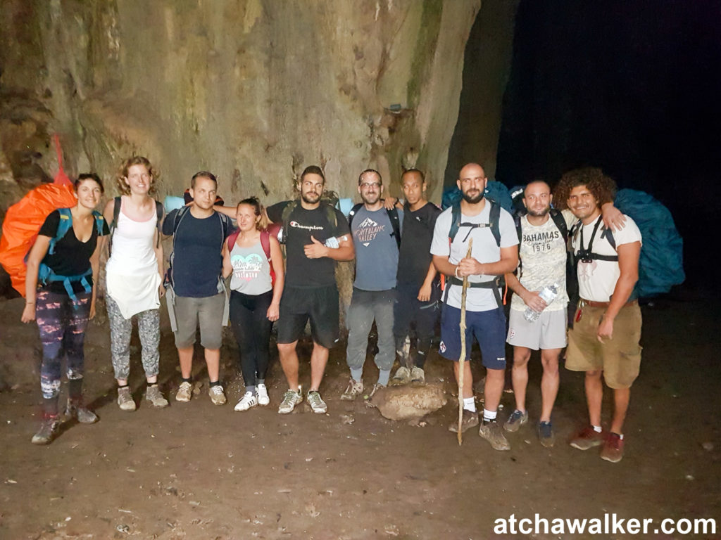 La fine équipe prête à attaquer le chemin du retour! - Taman Negara