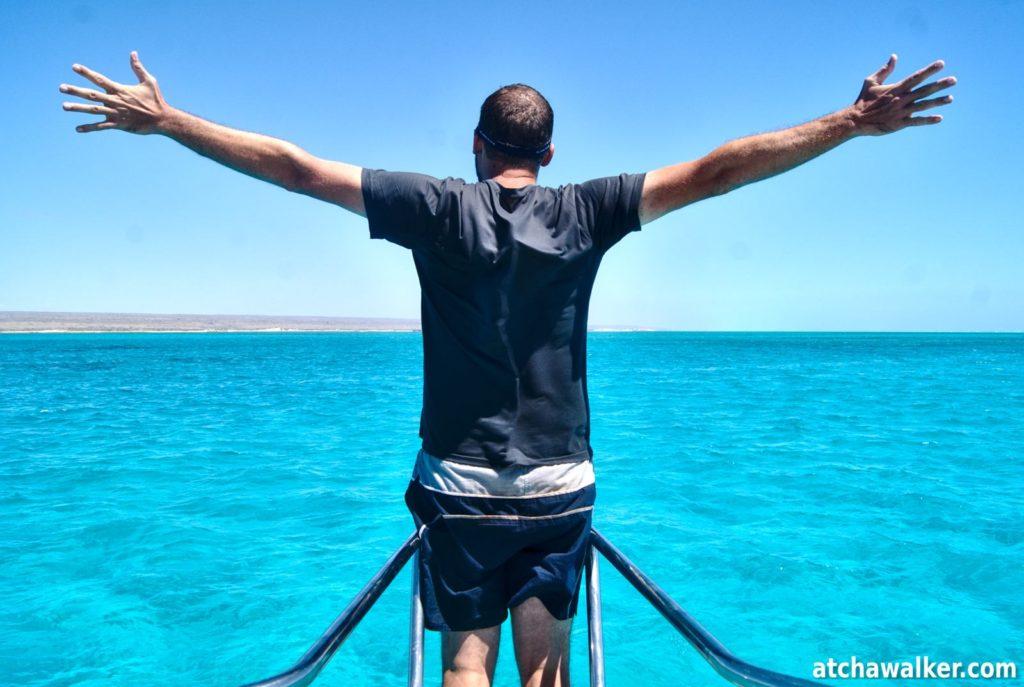 I'm the king of the world!...j'ai pas pu résister! - Ningaloo Reef